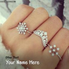 Amazing Girl Ring Hand