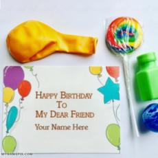 Best Happy Birthday Wish Card With Name