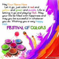 Best Holi Messages Images With Name