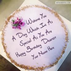 Best Wish Birthday Cake