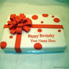 Birthday Cake Wrapped