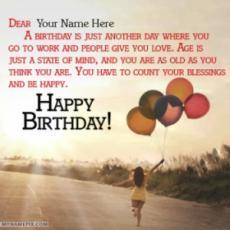 Celebration Happy Birthday Wishes With Name