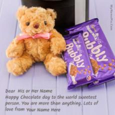 Chocolate Day Wish