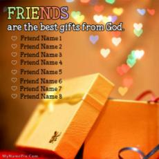 Friends Are Gift