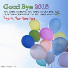 Good Bye 2016
