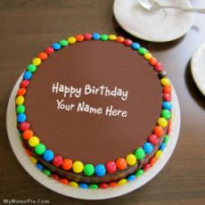 Birthday Chocolate Bunties Cake