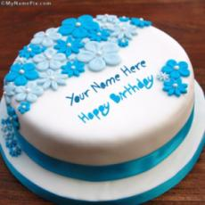 Design Your Own Ice Cream Cake : Write Your Name On Happy Birthday Chocolate Cake Picture