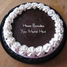 Chocolate Icecream Birthday Cake