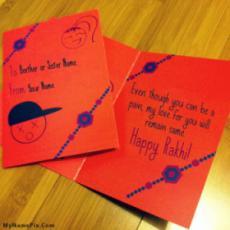 Happy Rakhi Wish Card