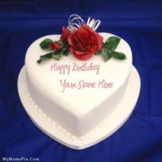 Heart Icecream Cake