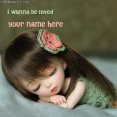 I wanna be loved