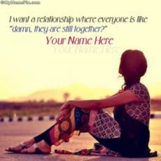 I want a relationship