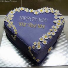 Indigo Yummy Cake