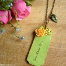 Vintage Bar Necklace