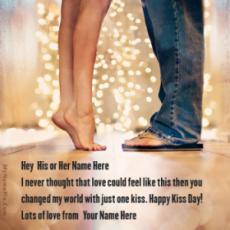 Kiss Day Romantic Wish