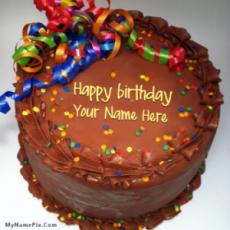 Party Birthday Cake