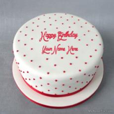 Polka Birthday Cake