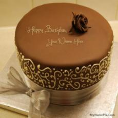 Royal Chocolate Birthday Cake