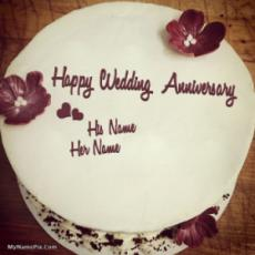 Unique Anniversary Cake
