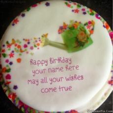Wish Birthday Cake