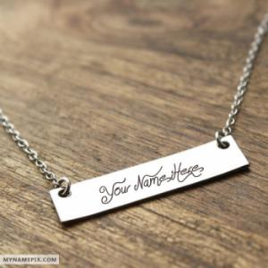 Personalized Amazing Charms Necklace  With Name