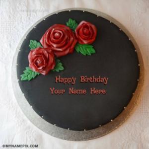 Amazing Chocolate Birthday Cakes With Name