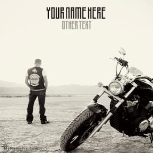 Bike Dude Image With Name