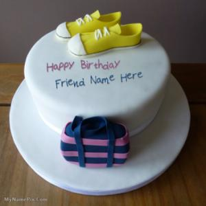 Birthday Cake for Girls New With Name