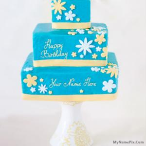 Cool Happy Birthday Cake With Name
