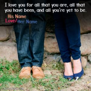 Cute Couple Quotes Image With Name