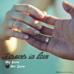 Forever in Love Image With Name