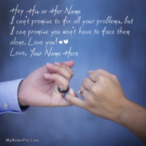 Happy Promise Day With Name