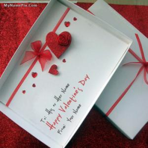 Happy Valentine Day With Name