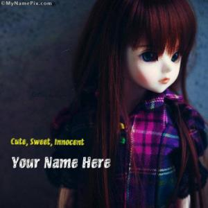 Cute Innocent Sweet Image With Name