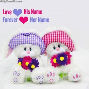 Cute Love Forever Image With Name