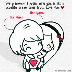 Cutest Love Image With Name
