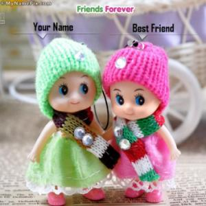 Friends Forever Image With Name