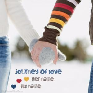 Journey Of Love Image With Name