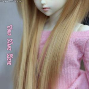 Long Hair Doll Image With Name