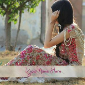 Lovely Beautiful Dress Image With Name