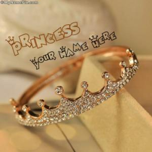 Princess Crown Image With Name