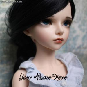 Sizzling Doll Image With Name