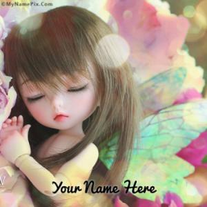 Sweet Little Doll Image With Name