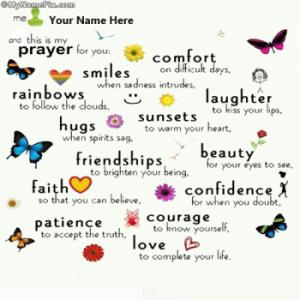 This is my prayer for you Image With Name