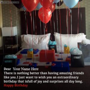 Romantic Happy Birthday Wishes With Name