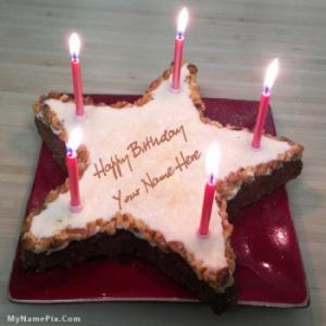 Cake Images With Name Mohan : Happy Birthday Chocolate Cake With Name