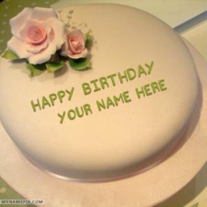 Superb Birthday Cake With Name