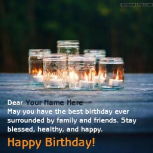 Sweet Happy Birthday Wishes With Name