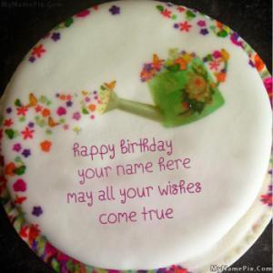Wish Birthday Cake With Name
