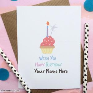 Wish You Happy Birthday Cards With Name